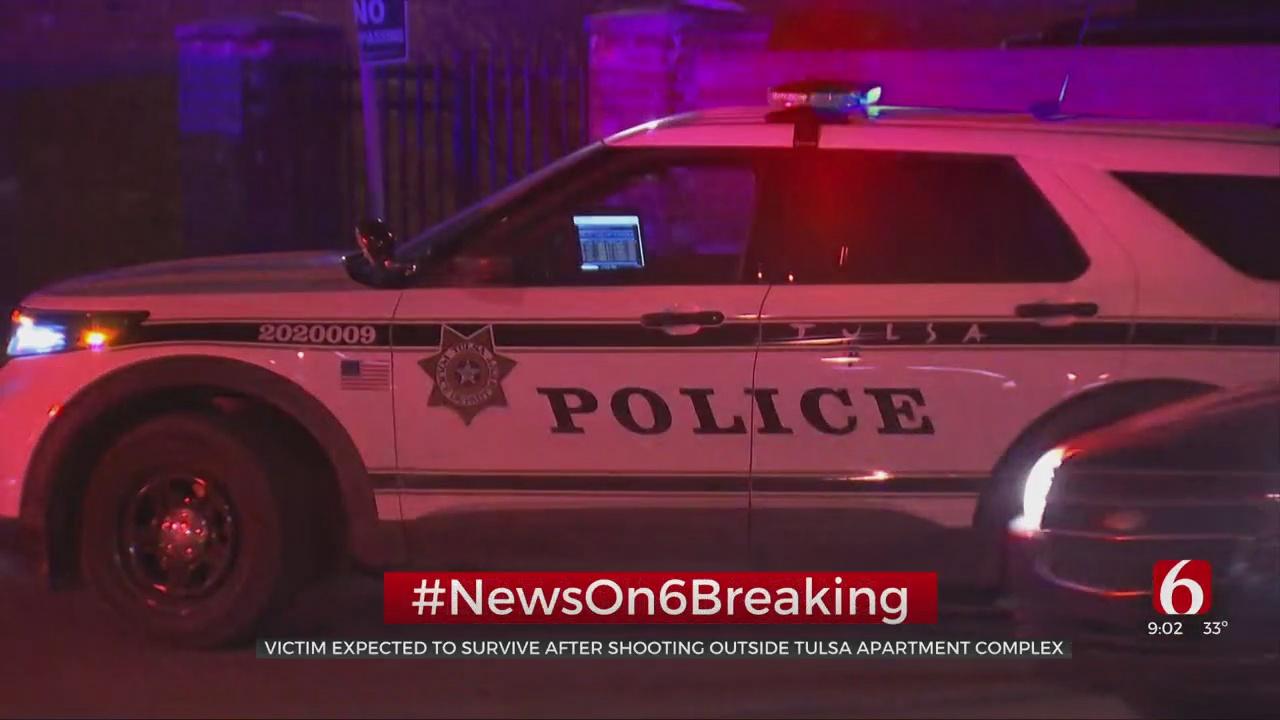 1 Victim Shot At Tulsa Apartment Complex