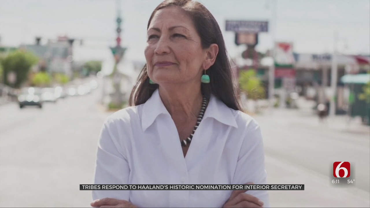 Tribes Respond To Haaland's Historic Nomination For Interior Secretary: 'Just Enormous Pride'