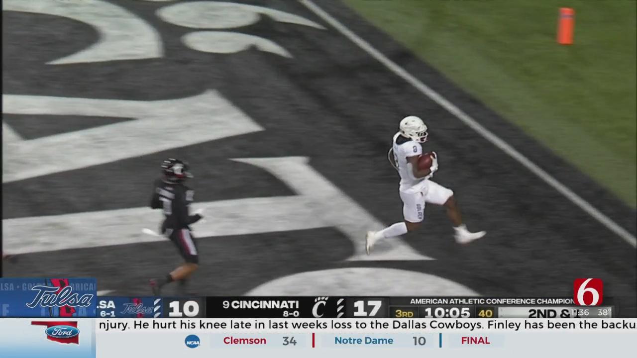 Tulsa Suffers Last-Second Loss To Cincinnati In AAC Title Game