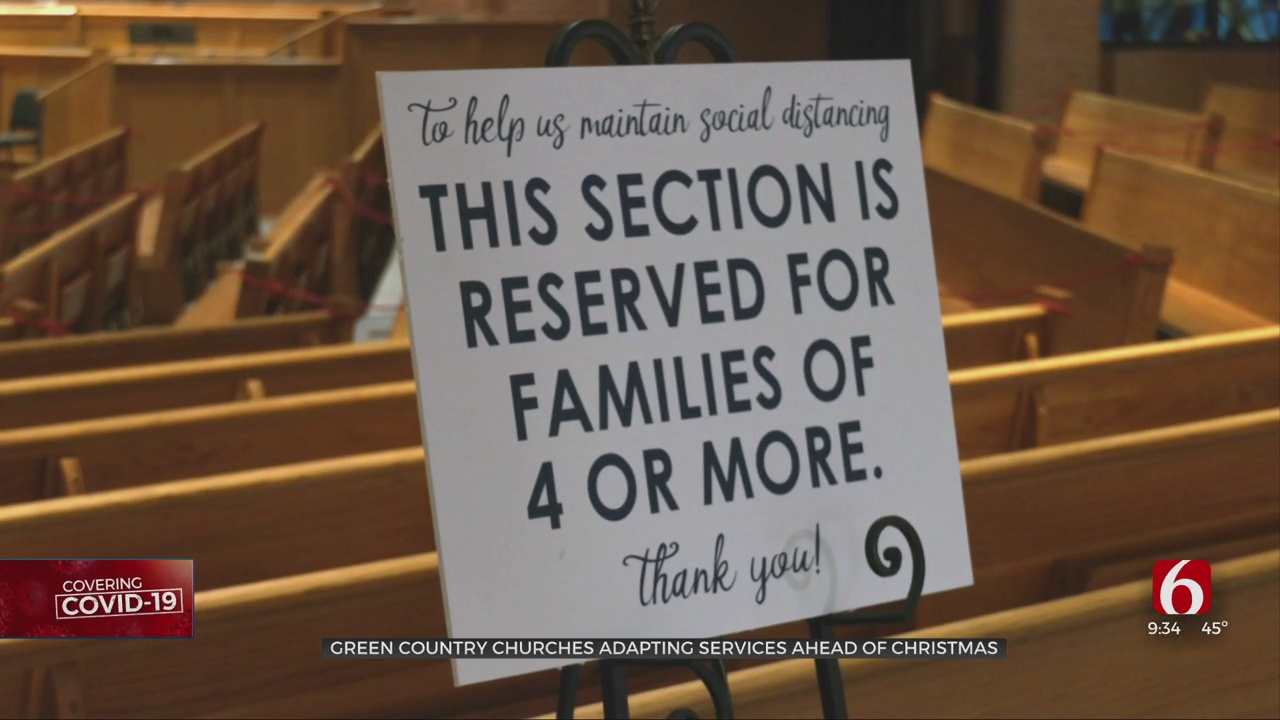 How The Pandemic Could Impact Christmas Week Events At Tulsa Churches