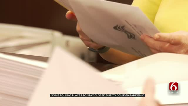 Some Oklahoma Voting Polls Will Remain Closed Amid COVID-19 Pandemic