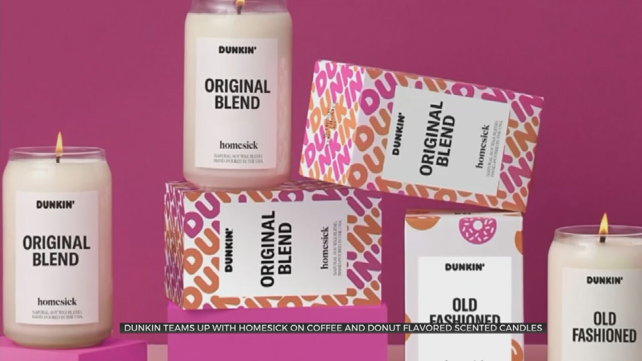 Dunkin' Announces Limited-Edition Coffee Scented Candles