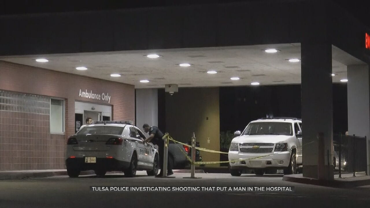 Tulsa Police Investigate After Man Hospitalized In Overnight Shooting