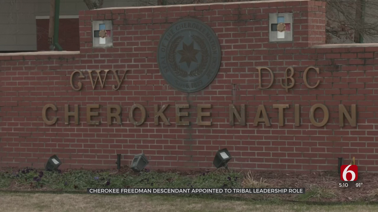 Freedman Appointed To Government Position For First Time In Cherokee Nation History