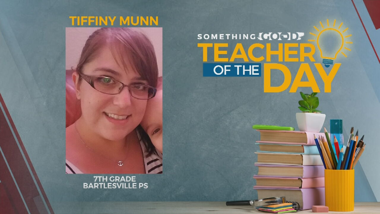 Teacher Of The Day: Tiffiny Munn