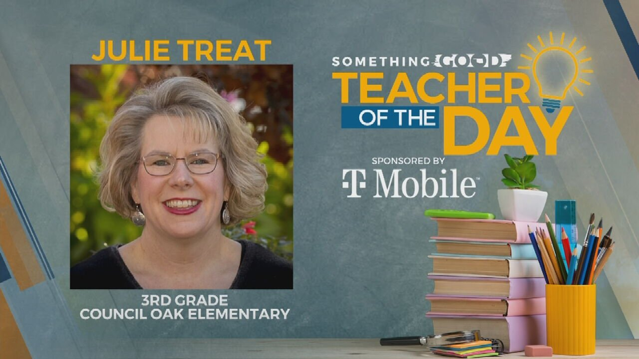Teacher Of The Day: Julie Treat