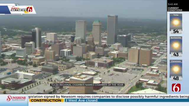 Tulsa Chamber Of Commerce Named 'National Chamber Of The Year'