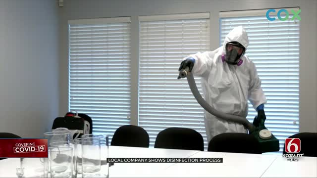 Cleaning Business Staying Busy Sanitizing Offices, Businesses Before Reopening