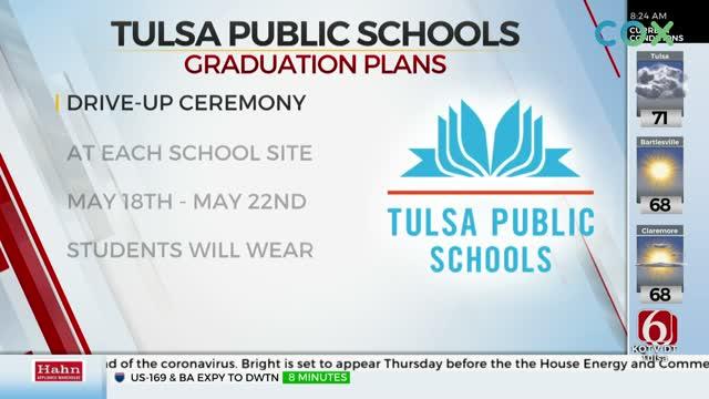 Tulsa Public Schools To Do 'Drive-Up' Graduation