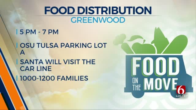 Food On The Move To Hold Last Distribution Event Of 2020