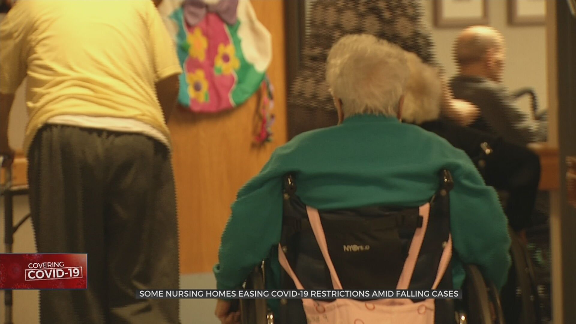 Some Nursing Homes Allowing Visitors, Tulsa Co. Facilities Still Restricted