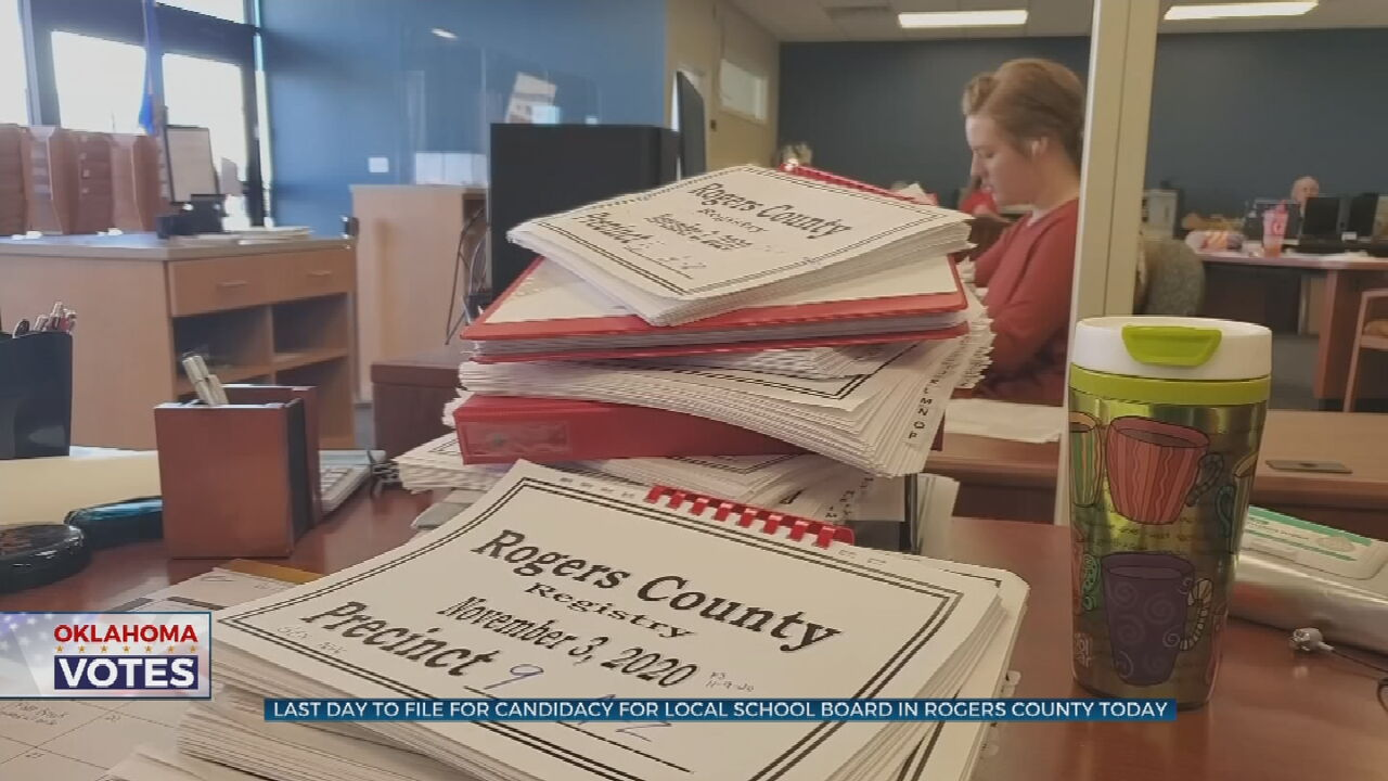 Final Day To File Paperwork To Run For School Board