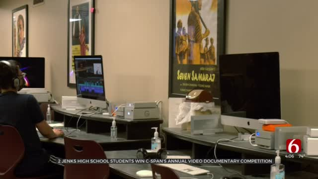 Jenks Students Win National Documentary Competition