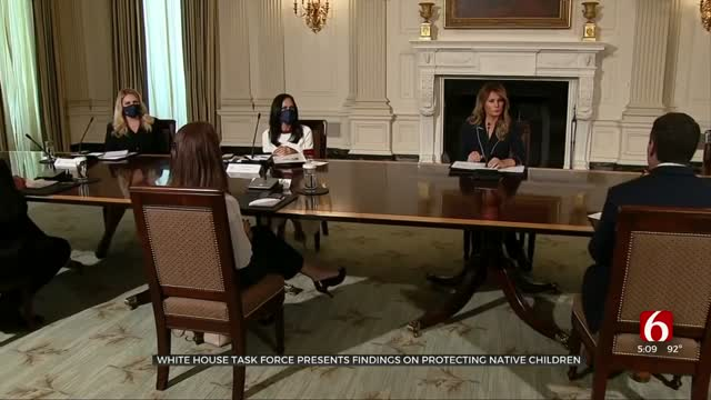 White House Task Force Presents Findings On Protecting Native Children