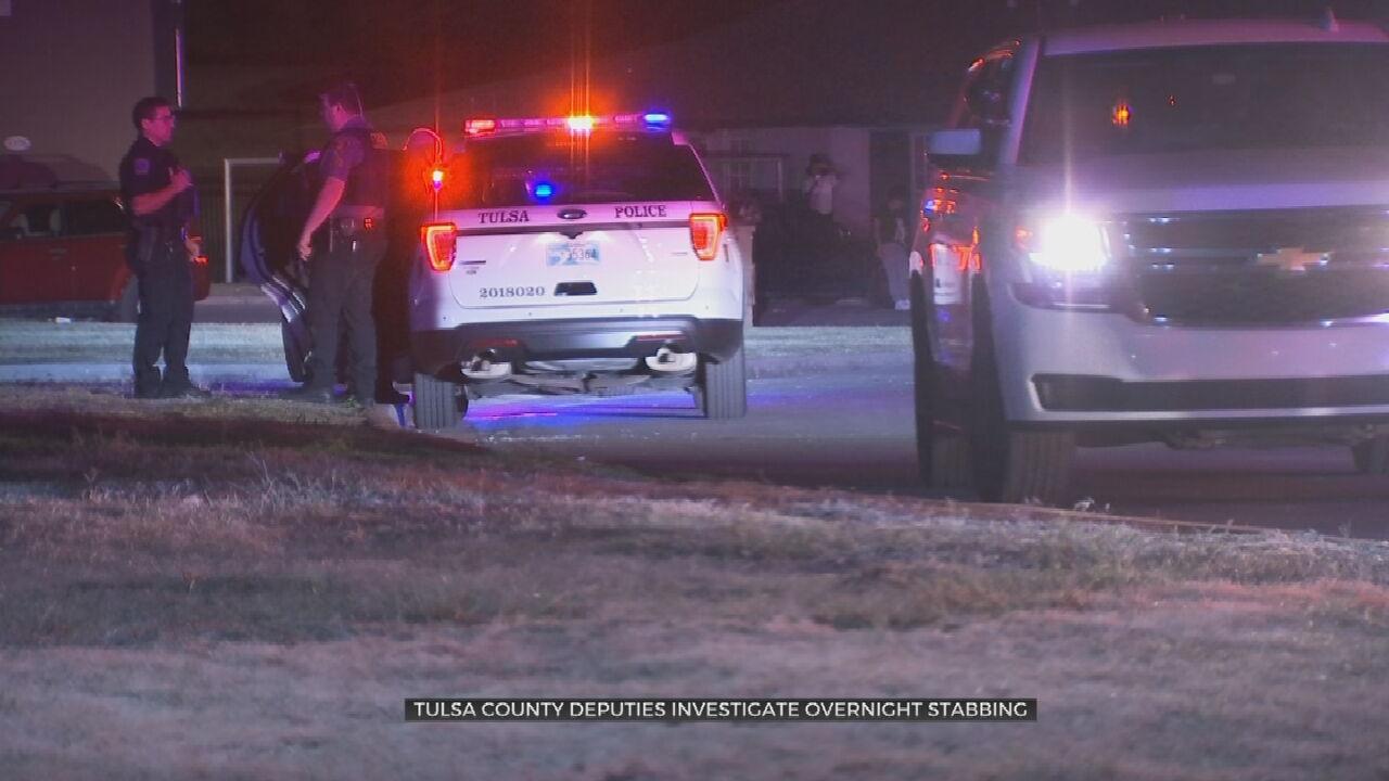 Tulsa Man Hospitalized After Overnight Stabbing