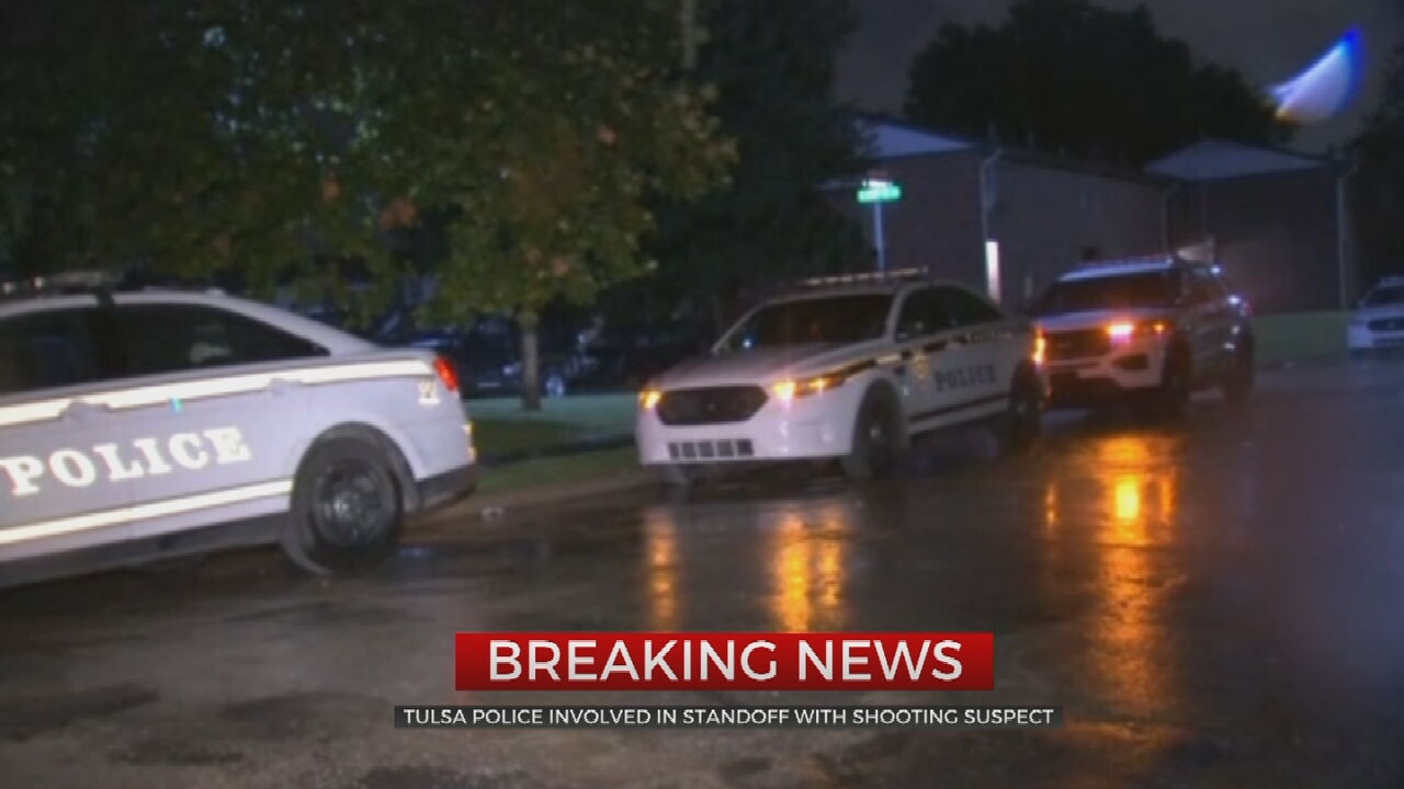 Tulsa Police Involved In Standoff With Shooting Suspect