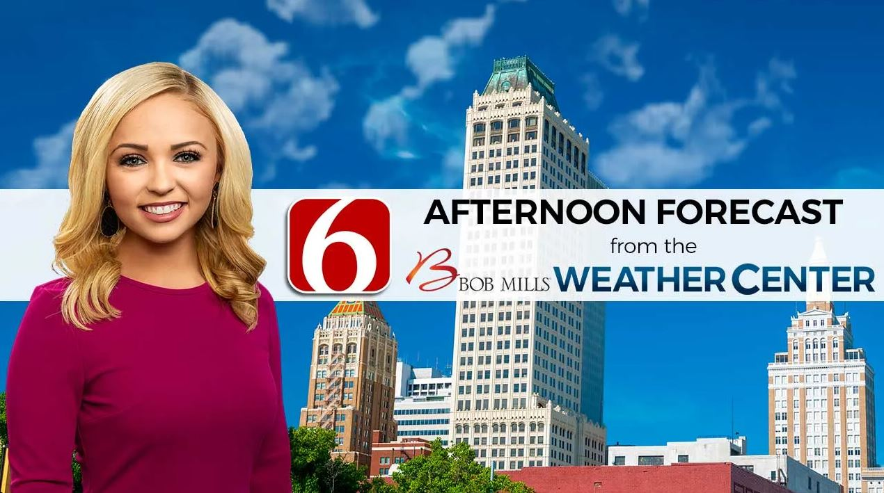 Afternoon Forecast With Kendall Smith