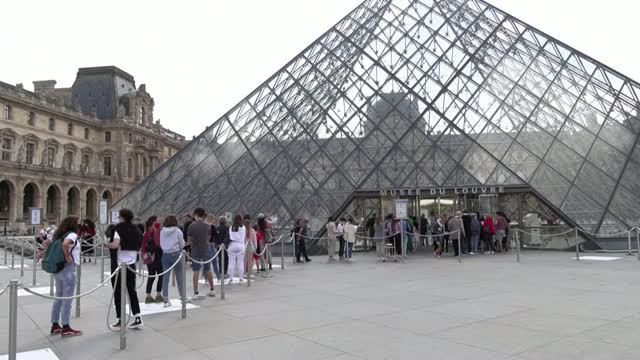 Louvre Reopens After 4-Month Closing Due To Coronavirus Pandemic
