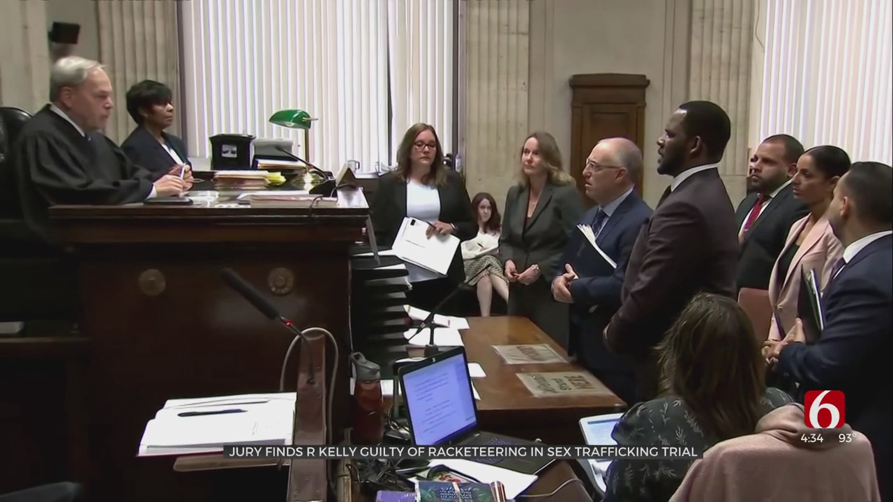 R&B Star R. Kelly Convicted In Sex Trafficking Trial