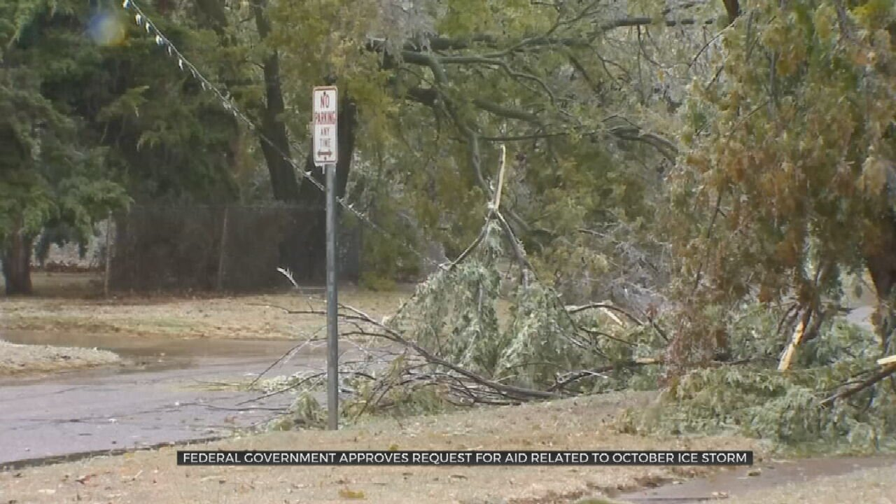 Federal Government Approves Oklahoma's Request For Winter Storm Aid