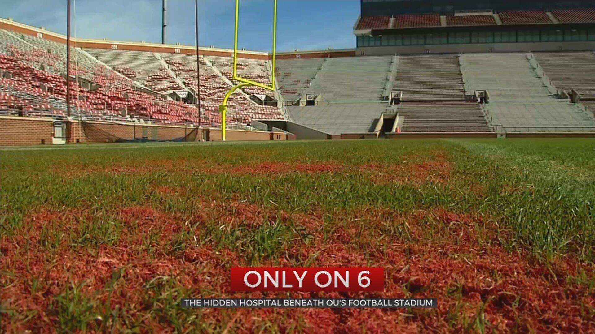 The Hidden Hospital Beneath OU's Football Stadium