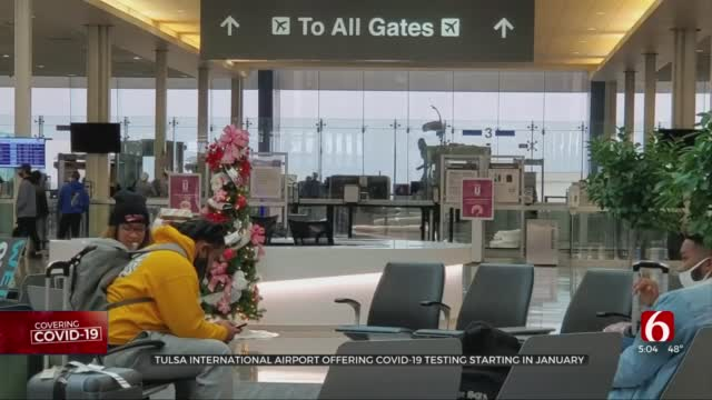 Tulsa International Airport Helps To Keep Travelers Safe By Offering COVID-19 Testing