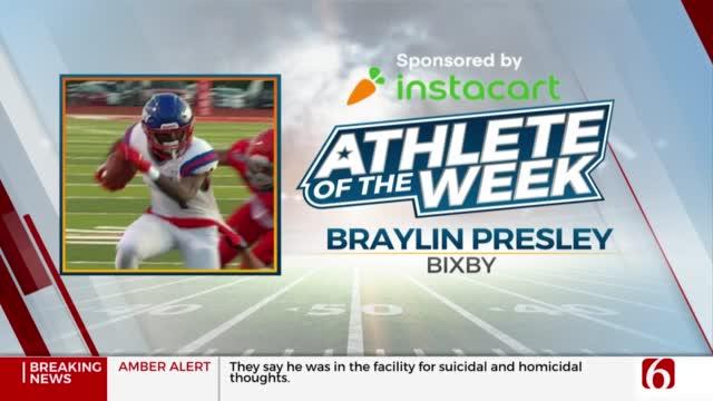 Instacart Athlete Of The Week: Braylin Presley