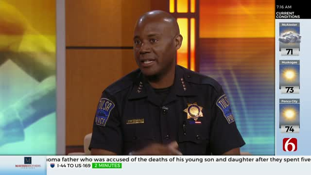 WATCH: Tulsa Police Chief Discusses Challenges Facing Dept., What Needs To Change