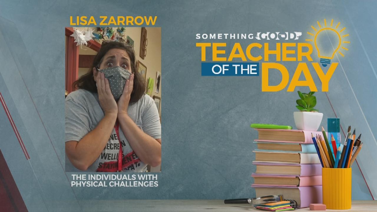 Teacher Of The Day: Lisa Zarrow