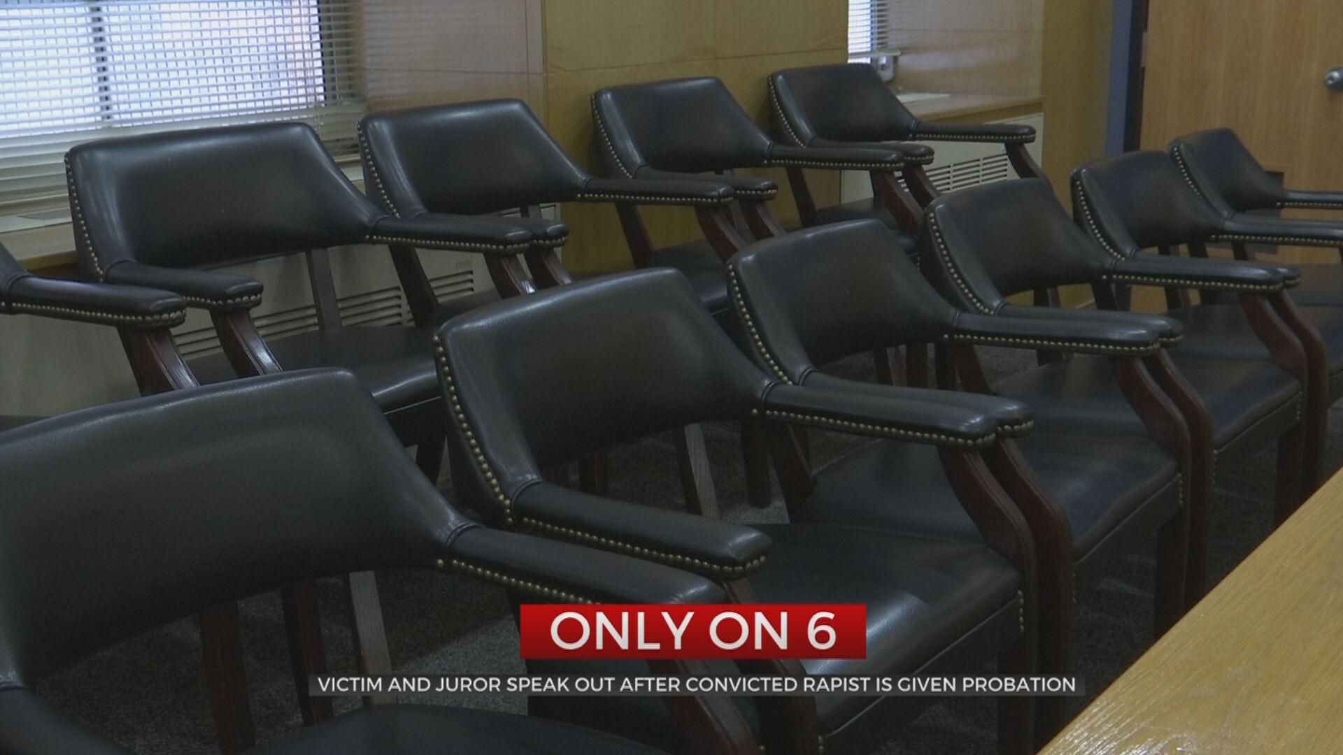 'I Felt Sick': Victim, Juror Speak Out After Convicted Rapist Given No Jail Time