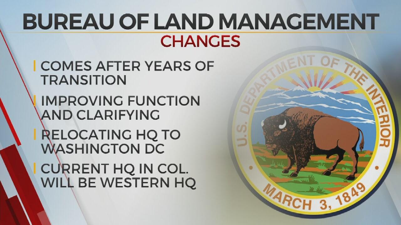 Land Agency Moving Back To DC, Reversing Trump-Era Decision