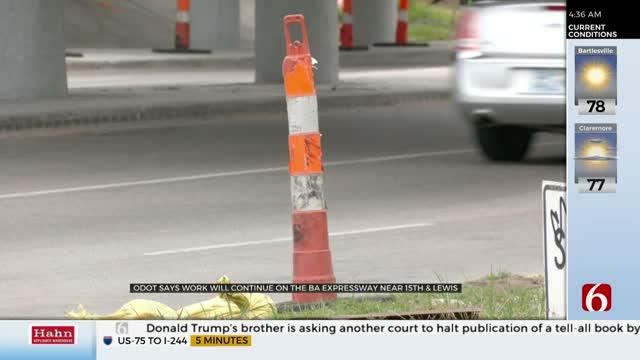 Lanes Open On BA Expressway, Crews Still To Work For Next Few Months