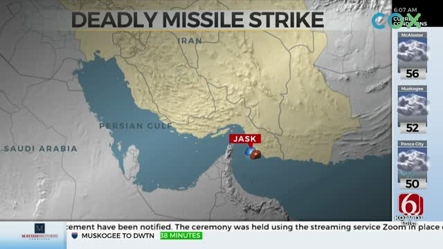 Iran Says 19 Sailors Killed, 15 Wounded In Missile 'Accident' At Sea
