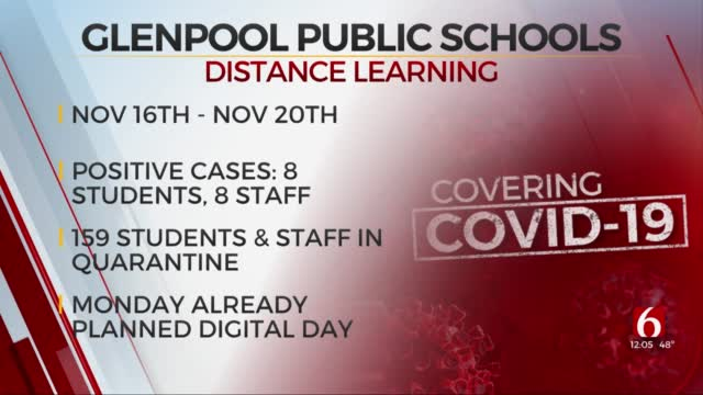 Glenpool Public Schools Moves To Distance Learning After Increase In COVID-19 Cases