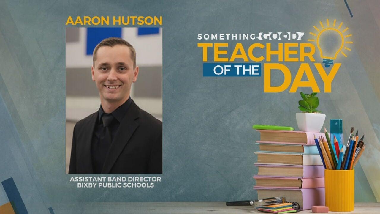 Teacher Of The Day: Aaron Hutson