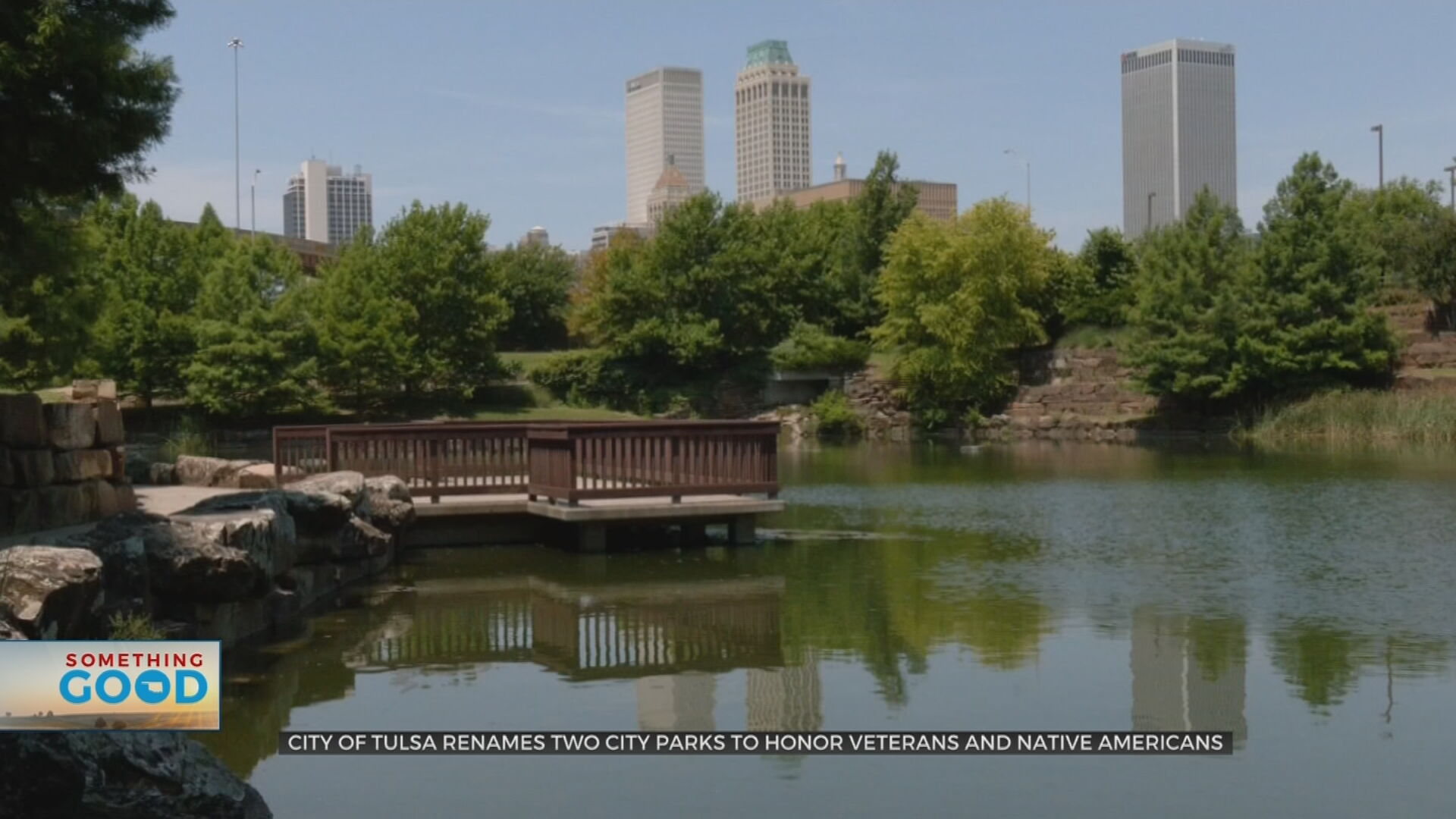 City Of Tulsa To Rename 2 Parks, Acknowledging History Of Native Americans & Veterans
