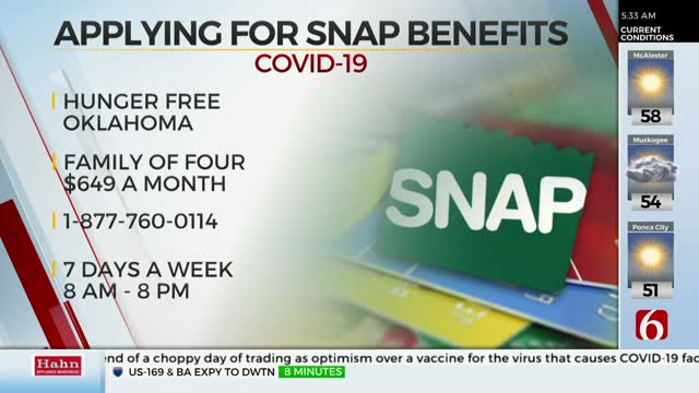Hunger Free Oklahoma Launches Hotline To Help With SNAP Applications