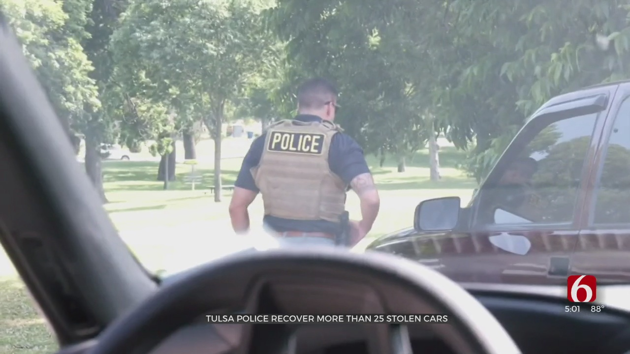 Tulsa Police Investigators Take Proactive Approach To Crack Down On Auto Theft