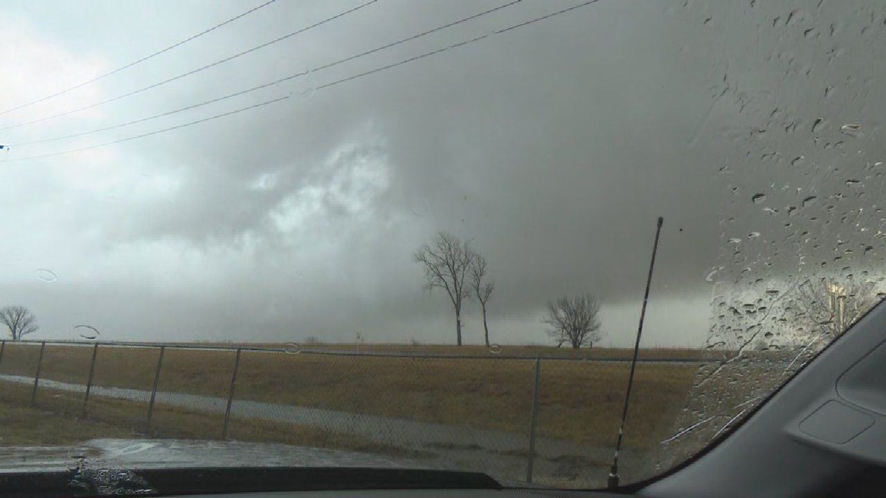 WATCH: Tornado Warning In Effect As Severe Weather Moves Through Eastern Oklahoma