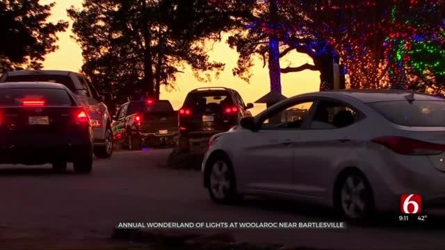 Woolaroc Kicks Off Annual Wonderland Of Lights
