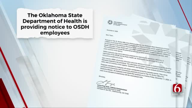 State Health Department Clarifies Concerns Over Privatization Of Public Health Lab