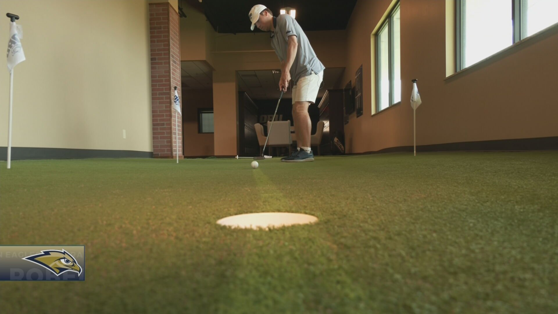 ORU's Howes, Reigning League Champion, Tees Off In NCAA Regionals