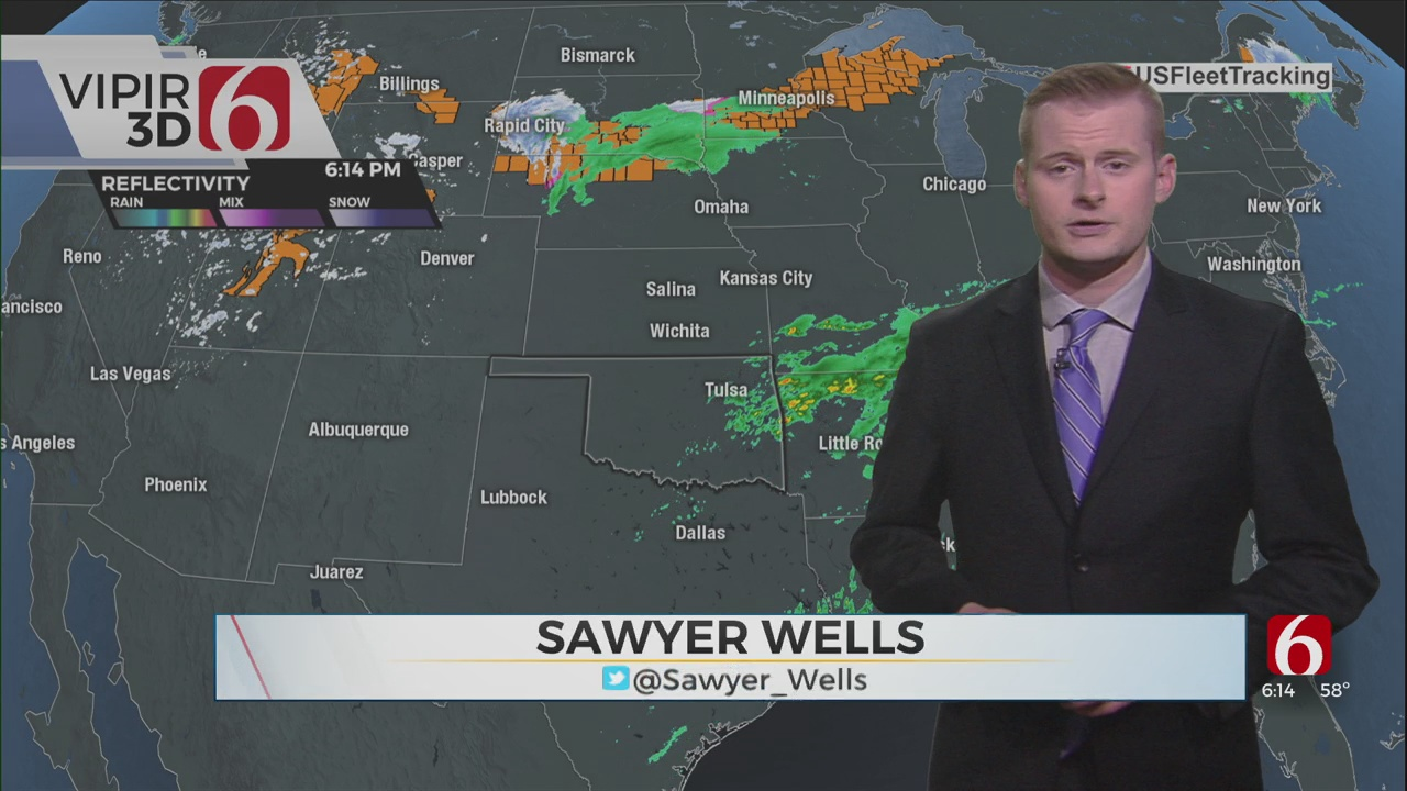 Saturday Evening Forecast With Sawyer Wells
