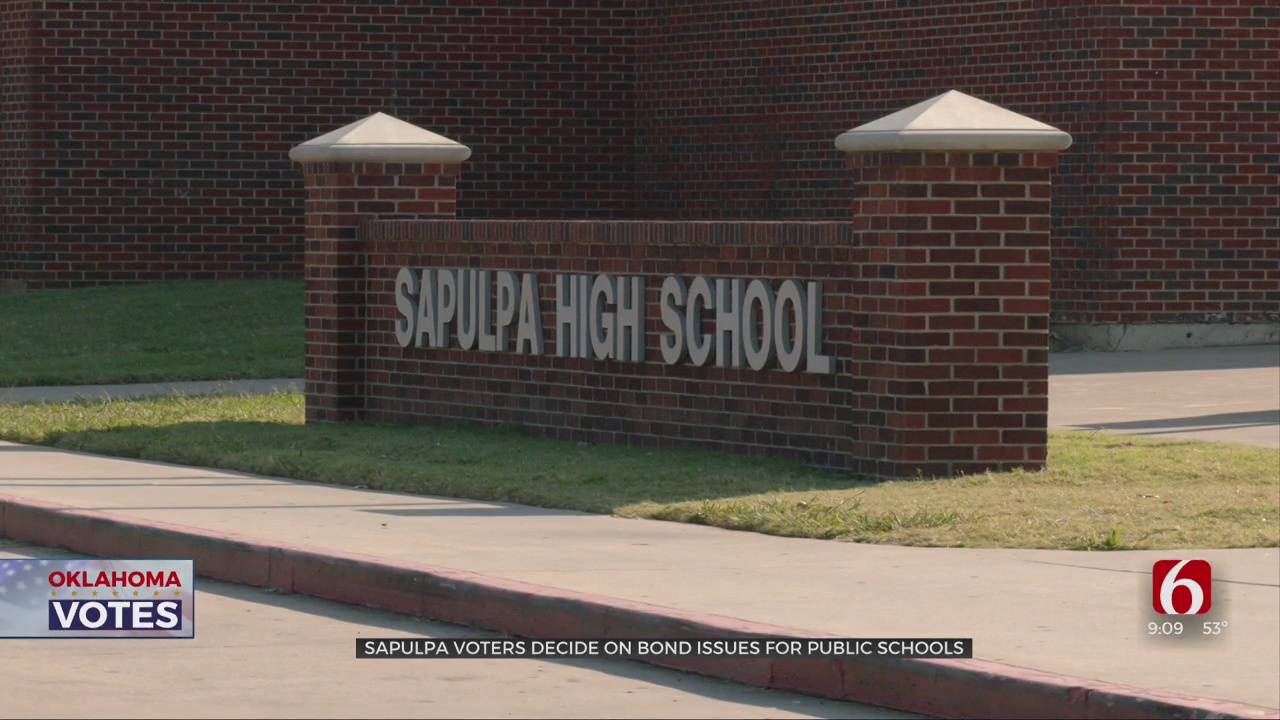 Sapulpa Voters Accept $1.5M Bond Proposals For School District