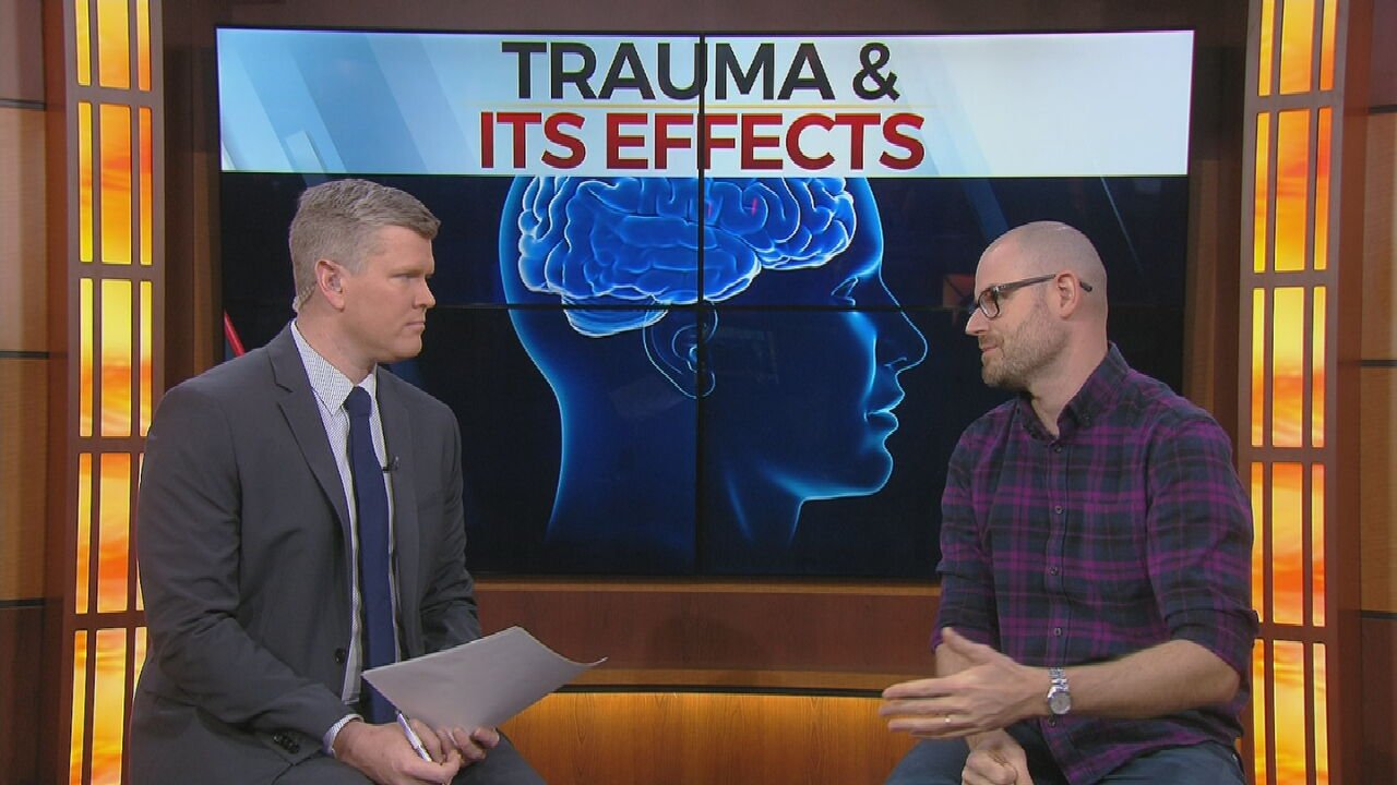 Watch: New Study Looking At Early Childhood Trauma's Impact Later In Life