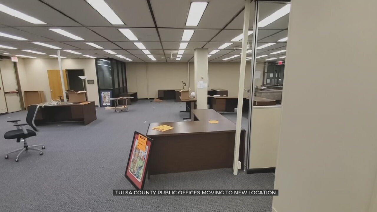 Many Tulsa County Public Offices Moving To New Location