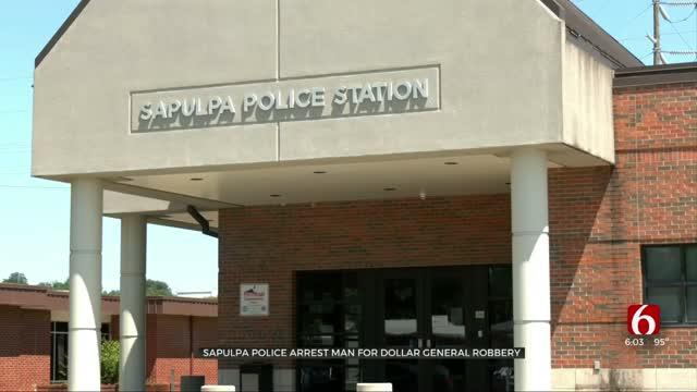 Police Arrest Man Accused Of Robbing Sapulpa Store