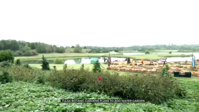Tulsa Botanic Gardens Announces Construction Of Water Garden