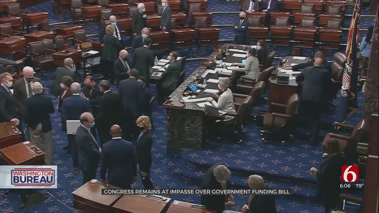 Government Funding Bill Passes House Along Partisan Lines, Faces Staunch Challenge In Senate
