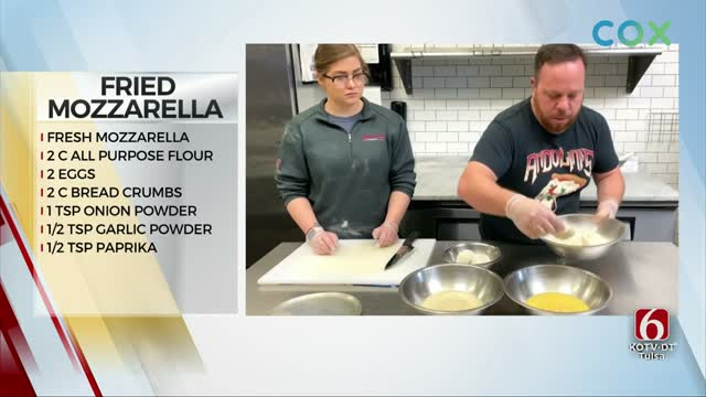 Andolini's Fried Mozzarella slices